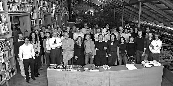 renzo piano building workshop architects group shot Serenity Now: The Renzo Piano Building Workshop in Punta Nave