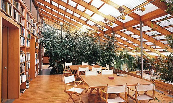 renzo piano building workshop genova italy office Serenity Now: The Renzo Piano Building Workshop in Punta Nave