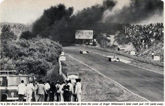 roger williamson crash 1973 dutch grand prix zandvoort f1 2009 Year in Review