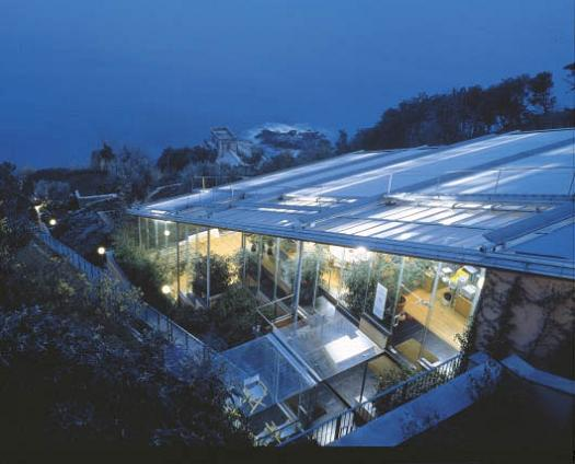 serene tranquil peaceful building house office Serenity Now: The Renzo Piano Building Workshop in Punta Nave