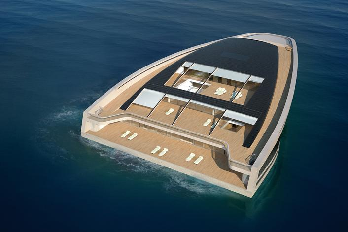 why yacht wally hermes triangle boat Re Imagining the Super Yacht: Wally Hermès Yachts