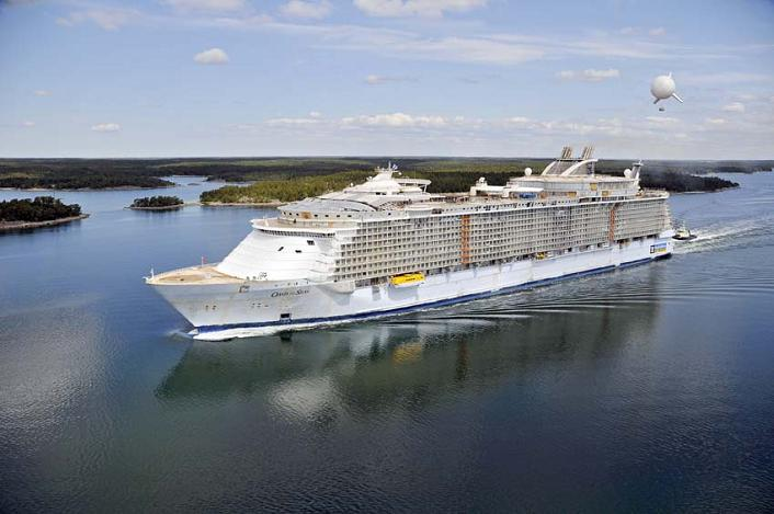The Largest Cruise Ship In The World Is Five Times The Size Of The - List of largest cruise ships