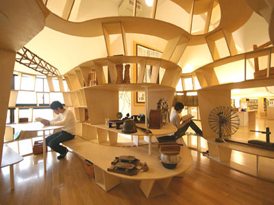 Yamakoya: The Japanese Bookshelf Cabin