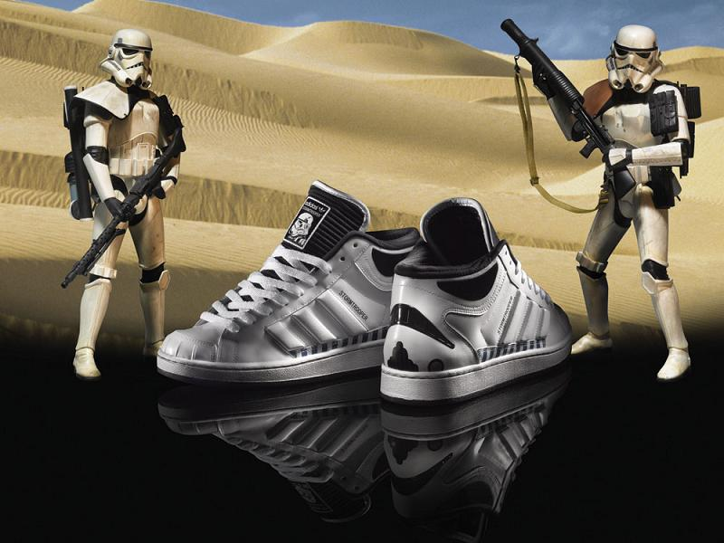 adidas stormtrooper star wars shoes Stormtrooper Inspired Art and Design