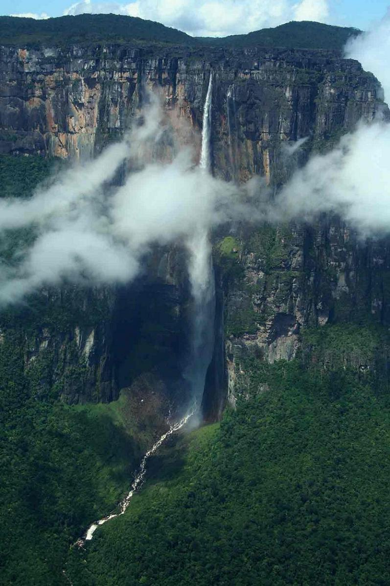 angel falls tallest waterfall in the world The Highest Waterfall in the World