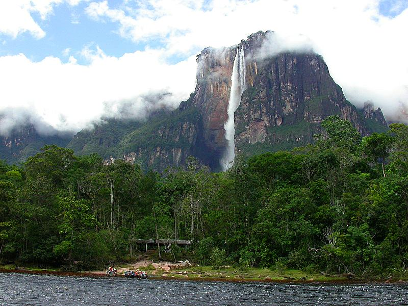 angel falls venezuela worlds highest The Highest Waterfall in the World