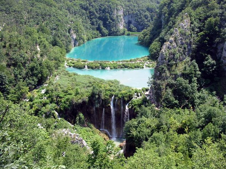 azure green lakes plitvice croatia The Most Popular Tourist Attraction in Croatia