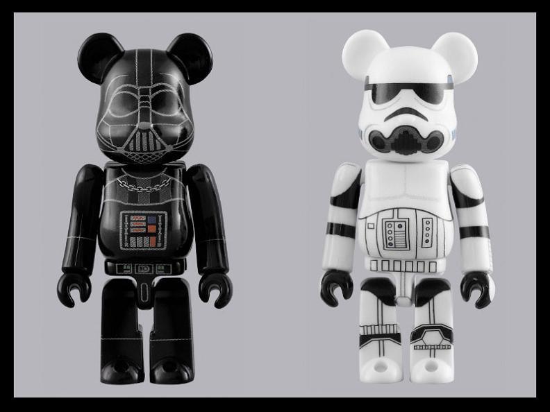 bearbrick stormtrooper plush doll Stormtrooper Inspired Art and Design
