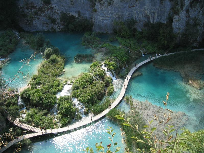 bluest lakes ever plitvice lakes national park The Most Popular Tourist Attraction in Croatia