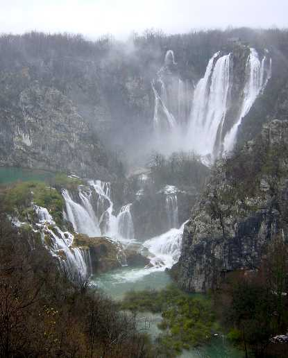 insane waterfalls of plitvice lakes national park croatia unesco world heritage site The Most Popular Tourist Attraction in Croatia