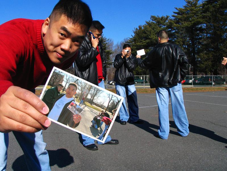 picture in picture illusion asian guy Picture of the Day   Mind. Blown.