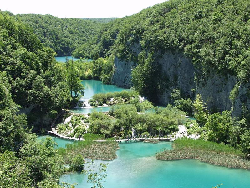 plitvice lakes croatia unesco world heritge site The Most Popular Tourist Attraction in Croatia