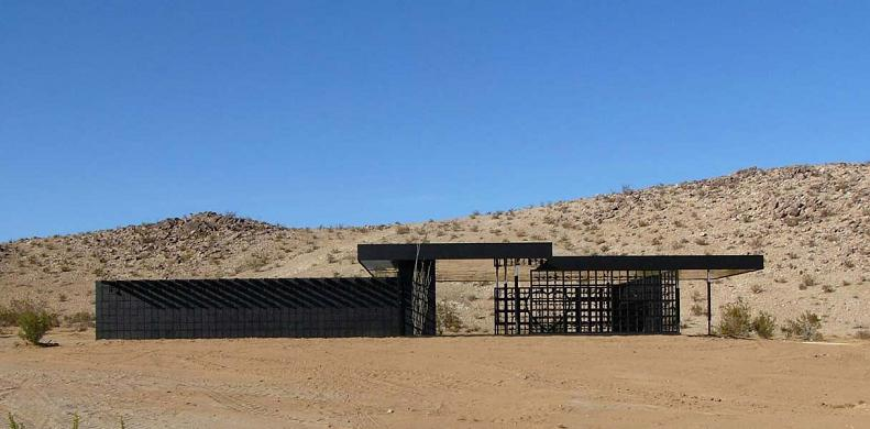 What Happens When a Punk Rocker Designs a Desert Home?