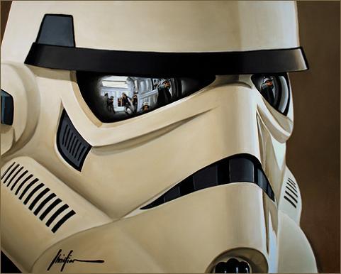 stormtrooper art print by christian waggoner Stormtrooper Inspired Art and Design