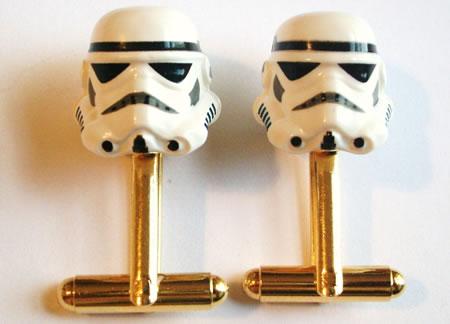 stormtrooper cufflinks Stormtrooper Inspired Art and Design