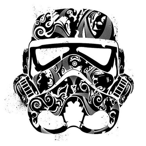 Samurai skull colouring pages page 2 - Stormtrooper Inspired Art And Design 171 Twistedsifter