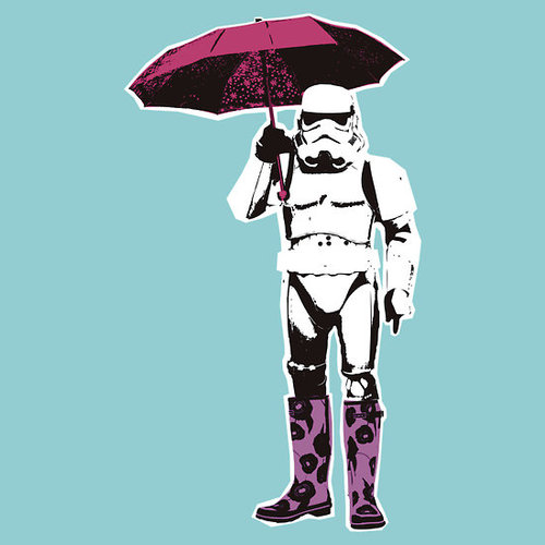 stormtrooper street art stencil banksy Stormtrooper Inspired Art and Design