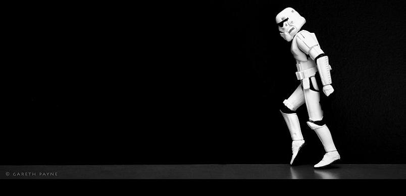 stormwalking stormtrooper moonwalking Stormtrooper Inspired Art and Design