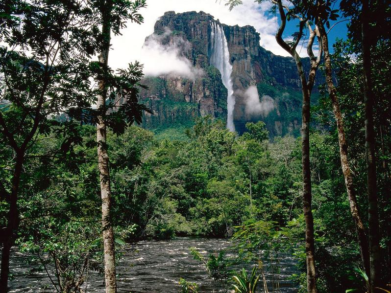 tallest waterfall in the world The Highest Waterfall in the World