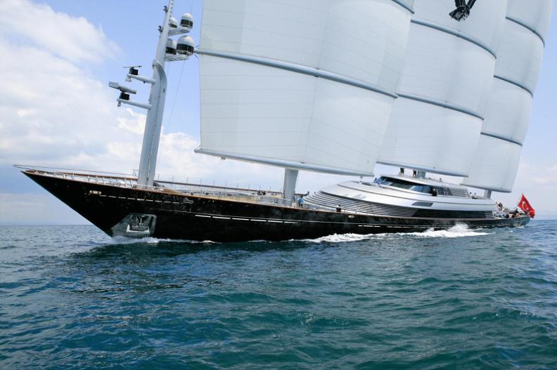biggest boat ever Maltese Falcon: Third Largest Sailing Yacht in the World