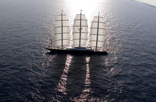 biggest yacht in the world maltese falcon Maltese Falcon: Third Largest Sailing Yacht in the World