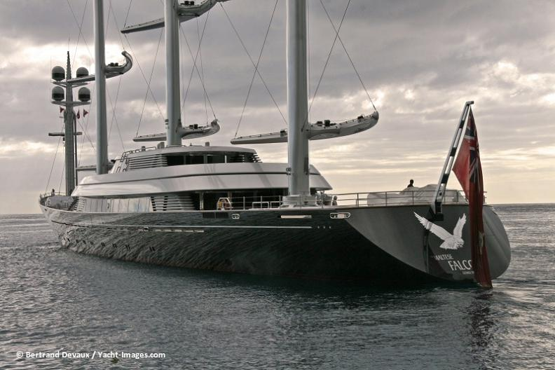 biggest yacht maltese falcon Maltese Falcon: Third Largest Sailing Yacht in the World
