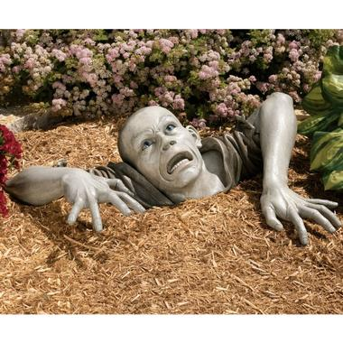 Garden Sculpture Zombie Lawn Ornament 13 Utterly Ridiculous Lawn Ornaments