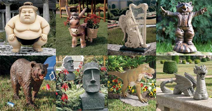 13 Utterly Ridiculous Lawn Ornaments