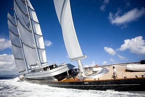 Largest Boat In The World Maltese Falcon Third Sailing Yacht
