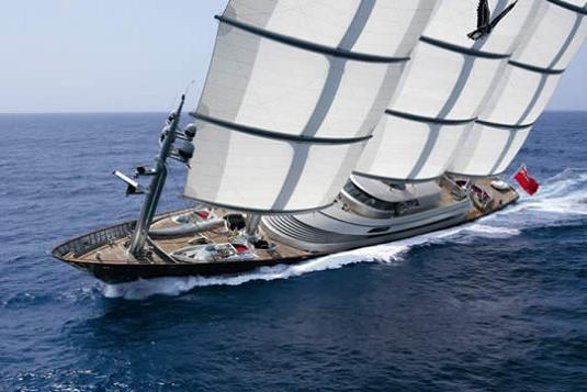 Maltese Falcon Worlds Biggest Yacht Third Largest Sailing In The World