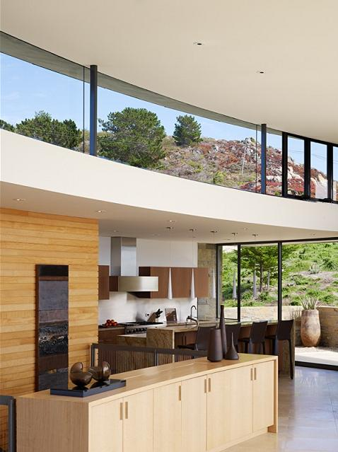 stunning kitchen design An Ocean of Emotion: The View from Otter Cove