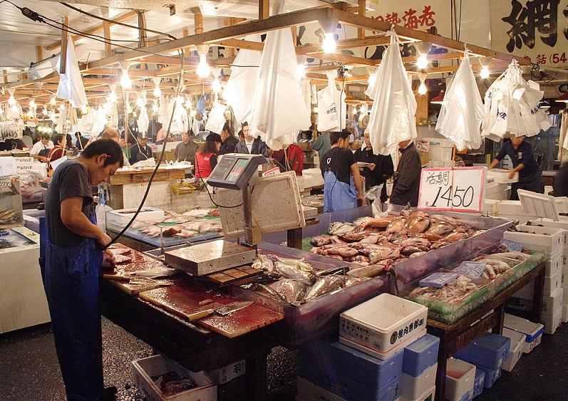 tokyo fish market largest in the world The Largest Fish and Seafood Market in the World