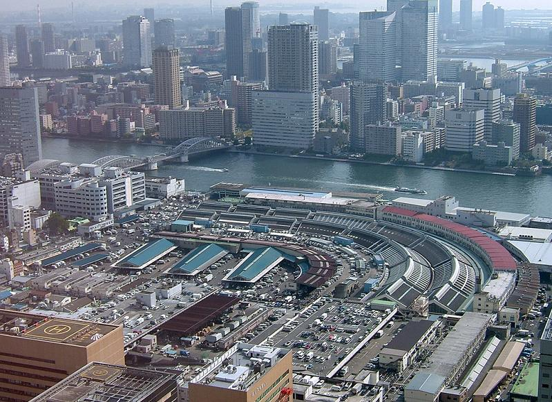 tsukiji fish market tokyo japan The Largest Fish and Seafood Market in the World