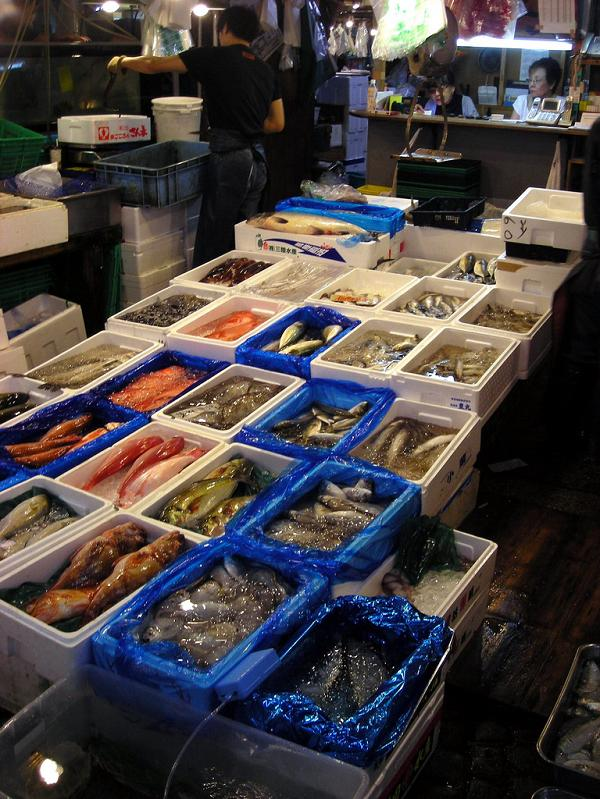 The largest fish and seafood market in the world for Sea world fish market