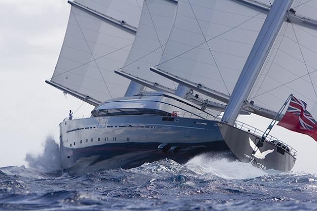 worlds largest yacht maltese falcon Maltese Falcon: Third Largest Sailing Yacht in the World