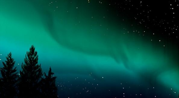 aurora borealis northern lights forced perspetive matthew albanese How to Make Small Scale Super Realistic Model Landscapes