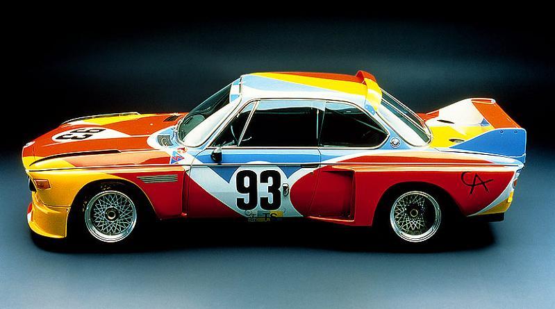bmw art car alexander calder 1975 The Evolution of the BMW Art Car