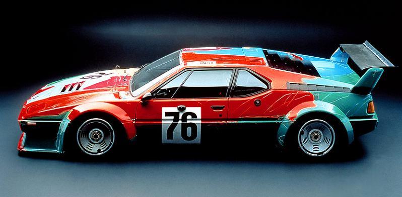 bmw art car andy warhol 1979 The Evolution of the BMW Art Car
