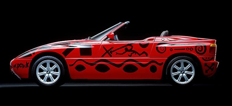 bmw art car ar penck 1991 The Evolution of the BMW Art Car