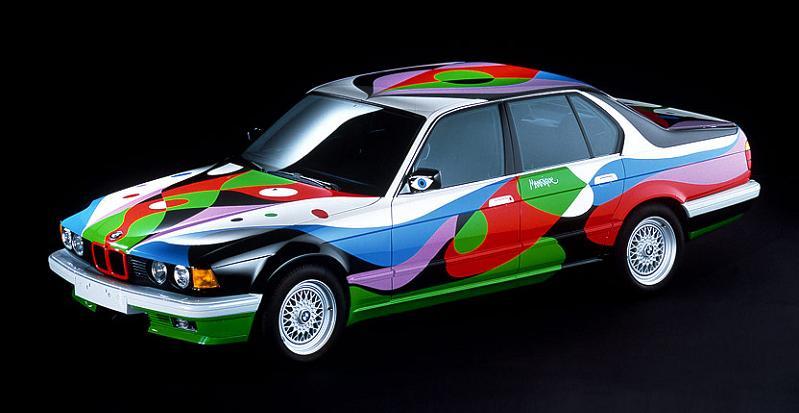 bmw art car cesar manrique 1990 The Evolution of the BMW Art Car