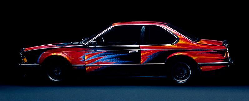 bmw art car ernest fuchs 1982 The Evolution of the BMW Art Car
