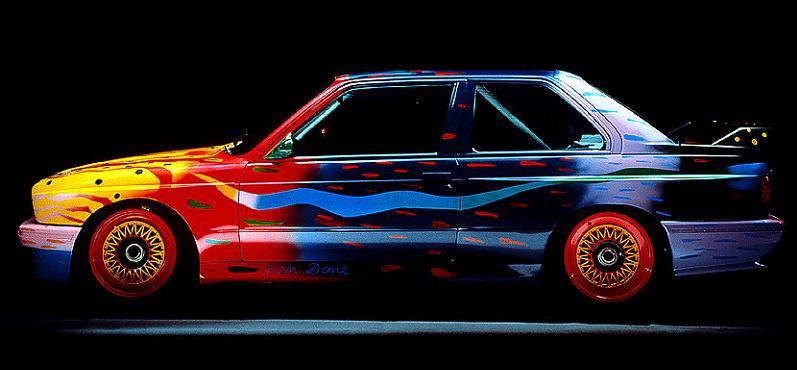 bmw art car ken done 1989 The Evolution of the BMW Art Car