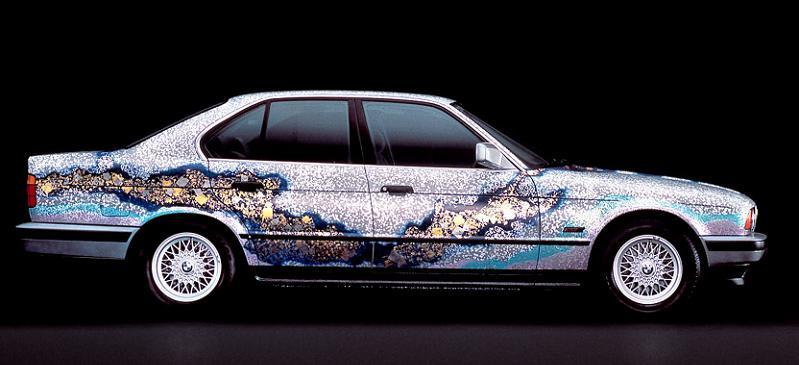bmw art car matazo kayama 1990 The Evolution of the BMW Art Car