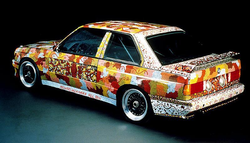 bmw art car mj nelson 1989 The Evolution of the BMW Art Car