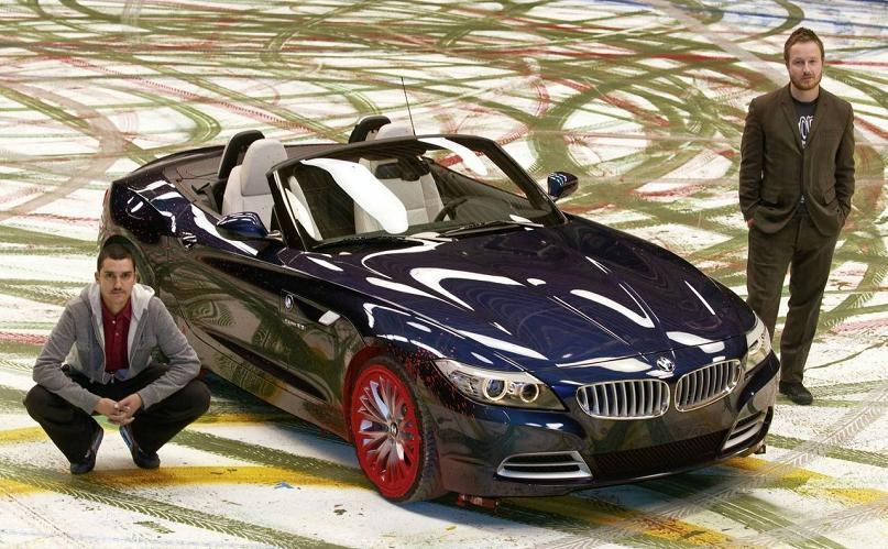 bmw art car robin rhode 2009 The Evolution of the BMW Art Car