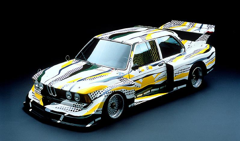 bmw art car roy lichtenstein 1977 The 1939 Pontiac Plexiglass Ghost Car