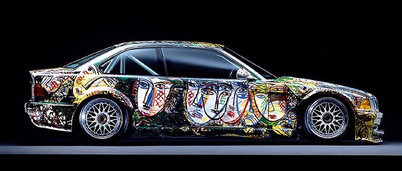 bmw art car sandro chia 1992 The Evolution of the BMW Art Car