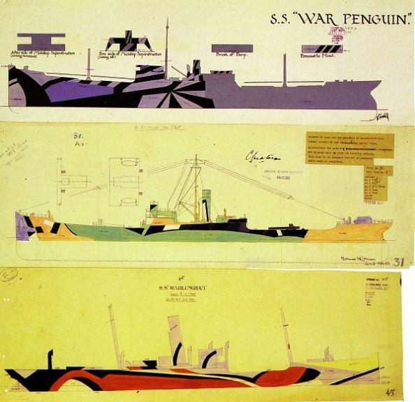 dazzle camouflage sketches The History of Razzle Dazzle Camouflage
