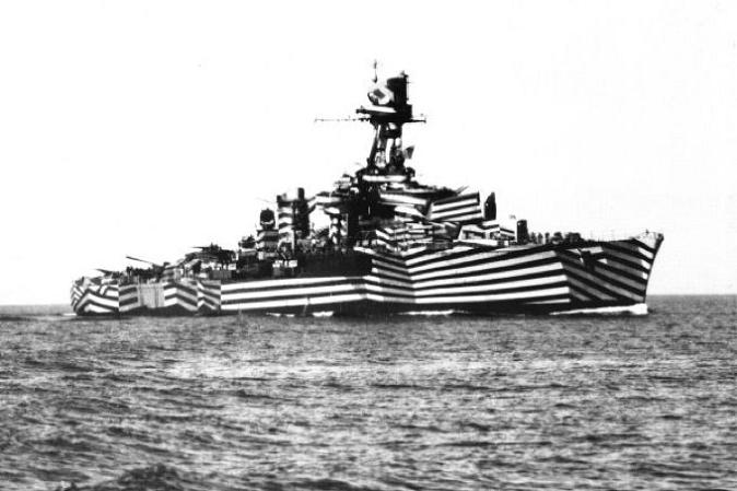 dazzle painting ship The Maunsell Sea Forts of WWII