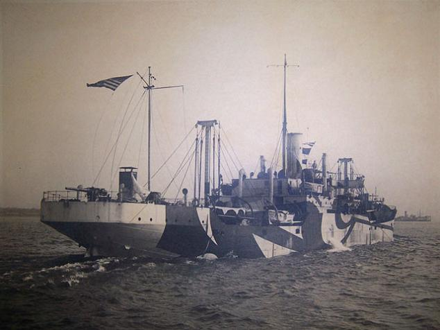 example of dazzle camouflage ship The History of Razzle Dazzle Camouflage